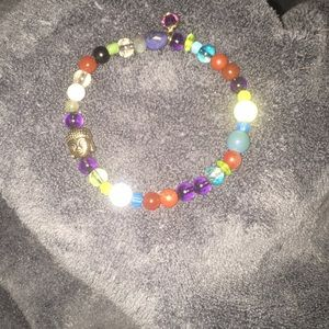 Fun with color beaded bracelet